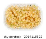 white currant berries  in a...   Shutterstock . vector #2014115522