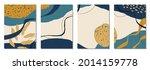 set of vertical abstract... | Shutterstock .eps vector #2014159778