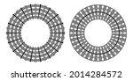 circle geometric pattern for... | Shutterstock .eps vector #2014284572