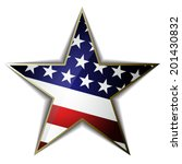 the american flag as star... | Shutterstock .eps vector #201430832