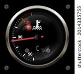 engine temperature on an...   Shutterstock .eps vector #2014335755