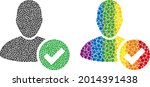 valid user mosaic icon of...   Shutterstock .eps vector #2014391438