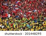 belo horizonte  brazil   june... | Shutterstock . vector #201448295