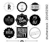 collection of premium quality... | Shutterstock .eps vector #201452582