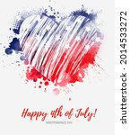 usa happy 4th of july...   Shutterstock . vector #2014533272