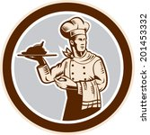 illustration of a chef cook... | Shutterstock .eps vector #201453332
