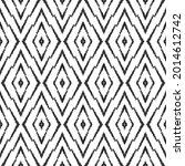 ikat seamless pattern for home... | Shutterstock .eps vector #2014612742