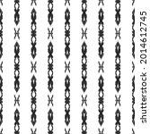 ikat seamless pattern for home... | Shutterstock .eps vector #2014612745