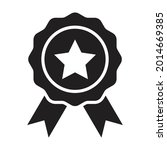 badge icon vector star with...
