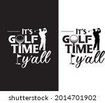 golfer exclusive design for... | Shutterstock .eps vector #2014701902