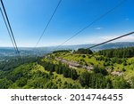 mountain red sun in the... | Shutterstock . vector #2014746455