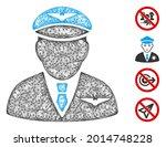 mesh pilot web 2d vector... | Shutterstock .eps vector #2014748228