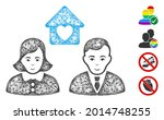mesh people marriage web symbol ...   Shutterstock .eps vector #2014748255