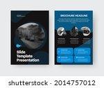 vector slide template with... | Shutterstock .eps vector #2014757012