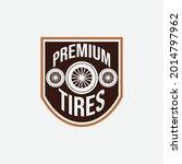 automobile rubber tire shop ... | Shutterstock .eps vector #2014797962