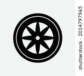 automobile rubber tire shop ... | Shutterstock .eps vector #2014797965