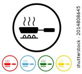 cooking icon with color...   Shutterstock .eps vector #2014808645