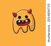 doodle monsters can be... | Shutterstock .eps vector #2014834715