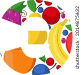 vector letter of the russian...   Shutterstock .eps vector #2014875632