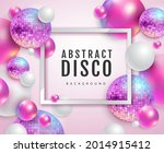 3d abstract background with... | Shutterstock .eps vector #2014915412