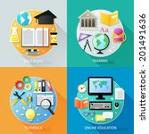 business education concept... | Shutterstock .eps vector #201491636