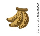 overripe banana icon clipart...   Shutterstock .eps vector #2014920548