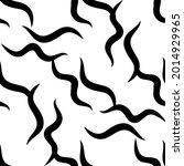 zebra stripes black and white... | Shutterstock .eps vector #2014929965