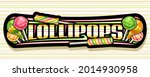 vector banner for lollipop ...   Shutterstock .eps vector #2014930958