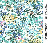 mixed liberty print on white...   Shutterstock .eps vector #2014939562