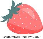 summer berry fresh tasty...   Shutterstock .eps vector #2014942502