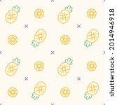 outline flat cute minimal...   Shutterstock .eps vector #2014946918