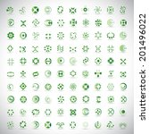 Unusual Icons Set   Isolated O...