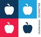 apple black shape blue and red...   Shutterstock .eps vector #2014967768