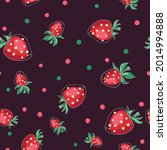 seamless background from juicy...   Shutterstock .eps vector #2014994888