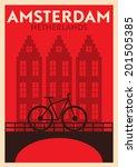 Typographic Amsterdam City...