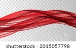 red waves. abstract background. ... | Shutterstock .eps vector #2015057798