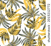 abstract seamless tropical... | Shutterstock .eps vector #2015212772