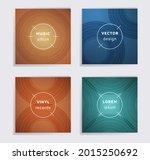 linear plate music album covers ... | Shutterstock .eps vector #2015250692