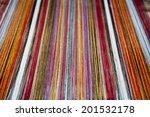 stretched alpaca yarn being... | Shutterstock . vector #201532178