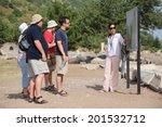 ephesus  turkey   june 6  2014  ... | Shutterstock . vector #201532712