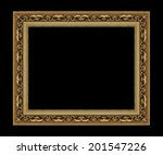picture frame antique isolated... | Shutterstock . vector #201547226
