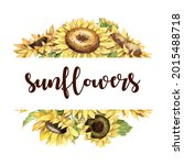 Bright Watercolor Bouquet With...