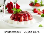 Jelly With Strawberries And...