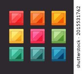 bright square buttons for ui...