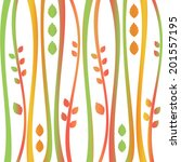 background of seamless floral... | Shutterstock .eps vector #201557195