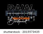 raw denim  modern and stylish... | Shutterstock .eps vector #2015573435