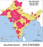 map of india with point out... | Shutterstock .eps vector #2015585888
