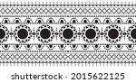 seamless ethnic pattern design... | Shutterstock .eps vector #2015622125