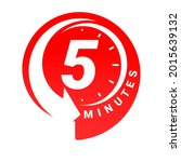 minute timer icons. sign for...   Shutterstock .eps vector #2015639132