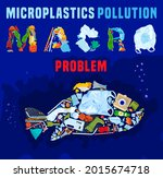 save the ocean. different waste ...   Shutterstock .eps vector #2015674718
